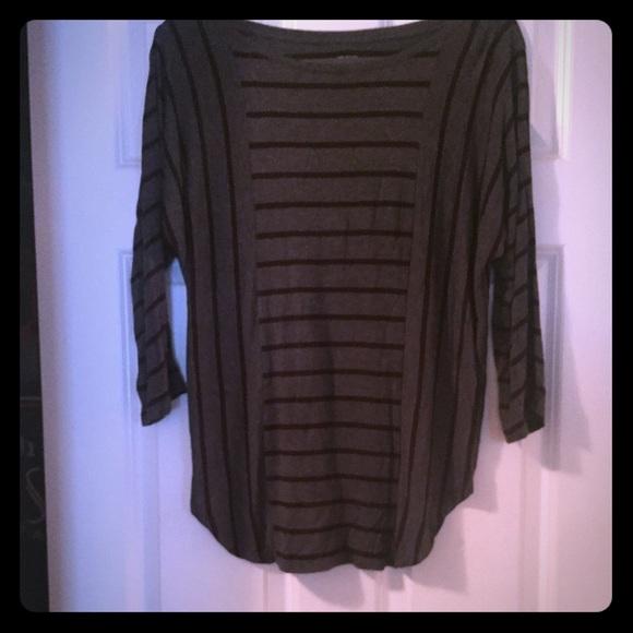 LOFT Tops - Women's Loft long sleeve striped shirt, size small